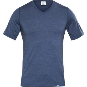 Bergans Bloom Camiseta de Lana Hombre, azul
